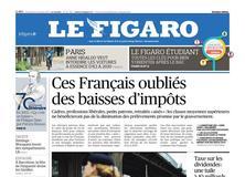 Le Figaro daté du 13 octobre 2017