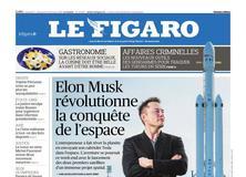 Le Figaro daté du 17 février 2018