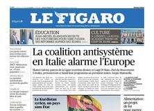 Le Figaro daté du 21 mai 2018