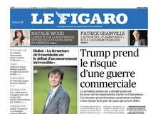 Le Figaro daté du 09 mars 2018