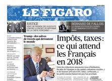 Le Figaro daté du 04 janvier 2018