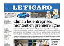 Le Figaro daté du 12 décembre 2017