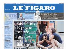 Le Figaro daté du 18 août 2017