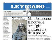Le Figaro daté du 29 septembre 2017