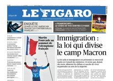 Le Figaro daté du 21 février 2018
