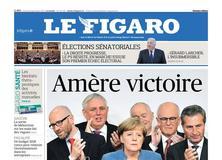 Le Figaro daté du 25 septembre 2017