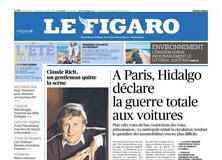 Le Figaro daté du 22 juillet 2017