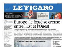 Le Figaro daté du 12 janvier 2018