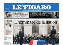 Le Figaro daté du 29 mars 2018