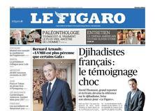 Le Figaro daté du 26 janvier 2018