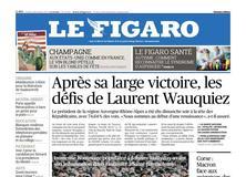 Le Figaro daté du 11 décembre 2017