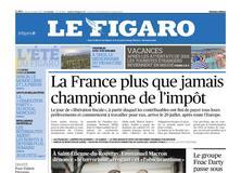 Le Figaro daté du 27 juillet 2017