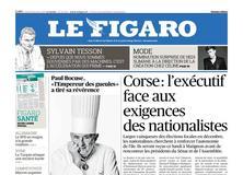 Le Figaro daté du 22 janvier 2018