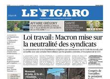 Le Figaro daté du 29 juin 2017