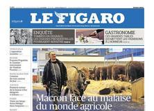 Le Figaro daté du 24 février 2018