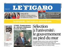 Le Figaro daté du 20 septembre 2017