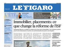 Le Figaro daté du 23 août 2017