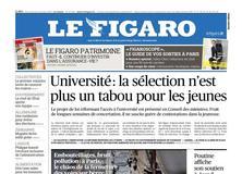Le Figaro daté du 22 novembre 2017