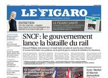 Le Figaro daté du 26 février 2018
