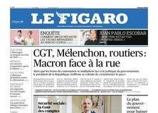 Le Figaro daté du 21 septembre 2017