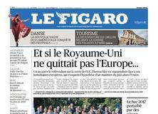 Le Figaro daté du 23 juin 2017