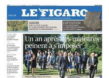 Le Figaro daté du 27 avril 2018