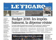 Le Figaro daté du 28 septembre 2017