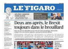 Le Figaro daté du 22 juin 2018