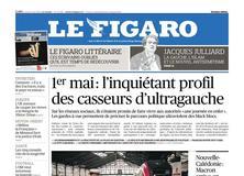 Le Figaro daté du 03 mai 2018
