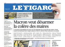Le Figaro daté du 20 novembre 2017