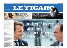 Le Figaro daté du 30 juin 2017