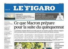 Le Figaro daté du 11 mai 2018