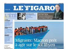 Le Figaro daté du 28 juillet 2017