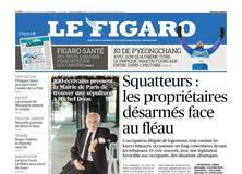 Le Figaro daté du 19 février 2018