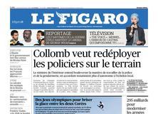 Le Figaro daté du 09 février 2018