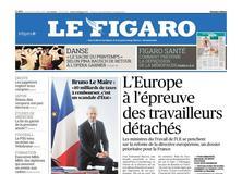 Le Figaro daté du 23 octobre 2017