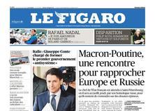 Le Figaro daté du 24 mai 2018