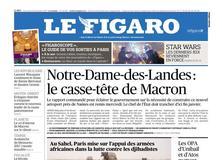 Le Figaro daté du 13 décembre 2017