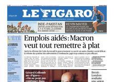 Le Figaro daté du 16 août 2017