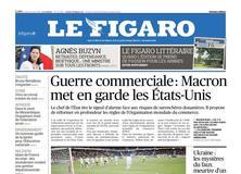 Le Figaro daté du 31 mai 2018