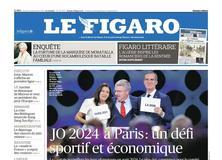 Le Figaro daté du 14 septembre 2017