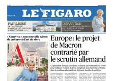 Le Figaro daté du 26 septembre 2017