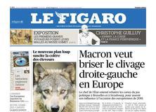 Le Figaro daté du 14 décembre 2017
