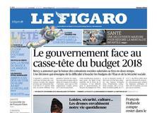 Le Figaro daté du 24 août 2017