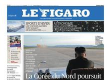 Le Figaro daté du 30 novembre 2017