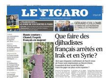 Le Figaro daté du 24 janvier 2018