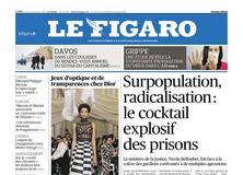 Le Figaro daté du 23 janvier 2018