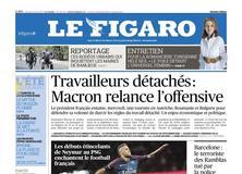 Le Figaro daté du 22 août 2017
