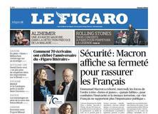 Le Figaro daté du 19 octobre 2017