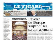 Le Figaro daté du 23 septembre 2017